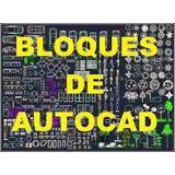 Mas 10.000 Bloques Libreria Autocad 2d - 3d Dibujos