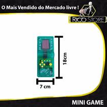 Console Brick Game Play Mini Jogo Super Tetris Vídeo Snake