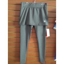 Pantalon De Licra Con Falda.