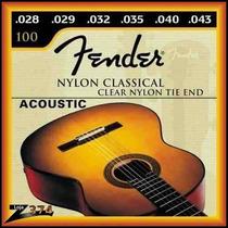 Encordoamento De Violão Nylon Fender