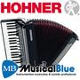 Acordeon Hohner Bravo 3 80 A Piano 37t 80b 5(7)r 3r A1642s