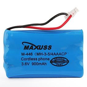 Bateria Para Telefone Sem Fio 3,6v 900mah Aaa Plug Universal
