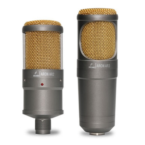 Microfone Arcano Aron Dinâmico Visual De Estúdio Alta Qualid