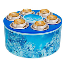 Cooler 3g Ice + Petisqueira Giratória Nota Fiscal E Garantia