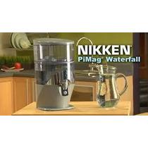 Waterfall Purificador Agua Nikken Ioniza Regula Ph Calcio O2