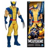 Muñeco Wolverine 30 Cm Original Marvel Hasbro Caja Dañada
