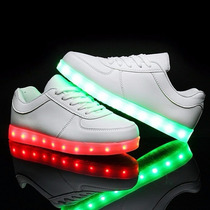Tenis Led Unisex 2017 Shoes Luminosos 12msi Envio Gratis
