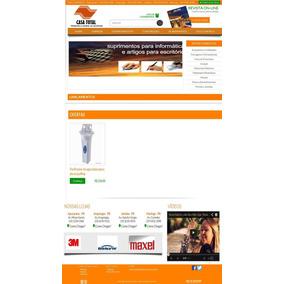 Script/site Php - Site Para Loja De Material Para Construção
