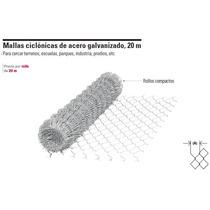 Malla Ciclonica De Acero Gal., Cal. 12.5, 20 M X 1 M