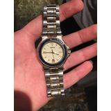 Gucci Reloj De Hombre Quartz Pulsera Combinado 100% Original