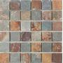 Piedra Oxido Natural Malla 30x30 X Pieza Apto Piso / Pared.
