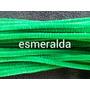 Limpiapipas Para Manualidades Verde Esmeralda De 30 Cms X 10