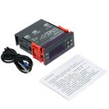 Controlador De Temperatura Digital Con Sensor -40~120°c, 12v