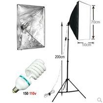 Soft-box Tipo Sombrinha 50x70cm + Tripe + Lampada 150w 110v