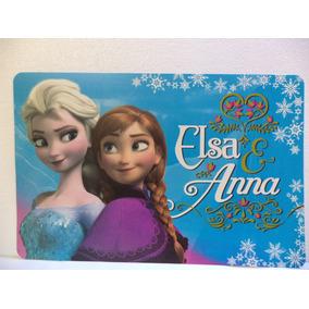 Frozen Fiestas 10 Manteles Individuales Regalos Recuerdos