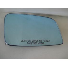 Par Lente Espelho C/base Retrovisor Azul Astra 1999 Até 2012