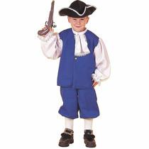 Poca Colonial Boy Niño Disfraces De Halloween