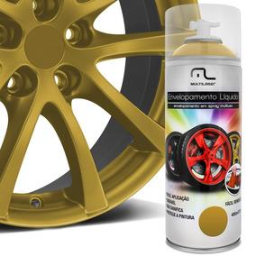 Spray De Envelopamento Líquido 400 Ml Dourado Multilaser