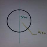 Empaque Oring Para Celda Hho 50pzas Nitrilo 3 1/4 Hidrogeno
