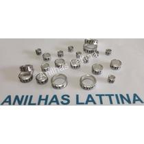 Anilha 5.5mm Calopsita Alumínio Fechada 10 Unid Frete Grátis
