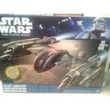 Nave Stars Wars The Clone Wars De Coleccion Nueva!!