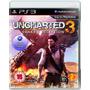 Uncharted 3 Ps3 Usado Solo Venta Impecable Español