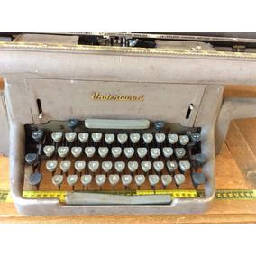 Maquina De Escribir Underwood De Los 50s Con Carro Extra