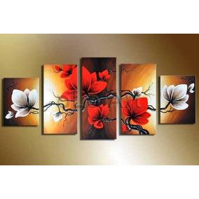 Cuadros tripticos cuadros de flores en mercado libre - Cuadros florales modernos ...