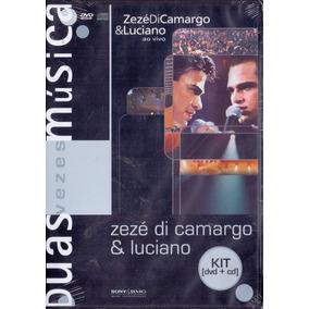 Dvd+cd Zezé Di Camargo & Luciano - Duas Vezes Música -novo**