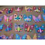 Masa Flexile- Mariposas Para Tortas (precio Docena) 7cm