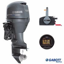 Motores Fuera Borda 50 Hp 4t 4 Tiempos Yamaha Nuevos Gabott