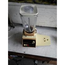 Liquidificador Antigo Original Oster Copo De Vidro Raridade