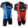 Conjunto Roupa Ciclismo Masculino Camisa Bermuda Penks Cor