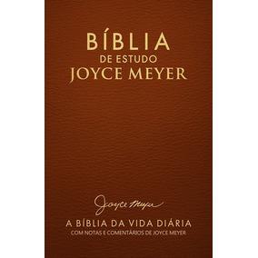 Bíblia De Estudo Joyce Meyer Letra Grande Cor Terra