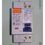 Disjuntor Dr Bipolar Fuga Diferencial Residual 2p 10a 30ma