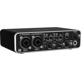 Interface De Áudio Usb Behringer U-phoria Umc202hd 202 Hd
