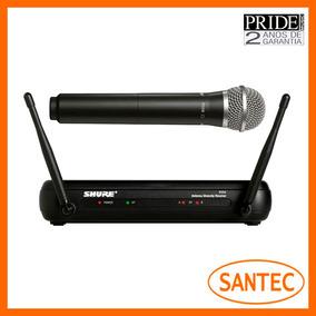 Microfone Sem Fio Shure Svx24br/pg58 Garantia 2 Anos