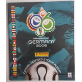 Album Panini Mundial Futbol Alemania 2006 (reproducción)