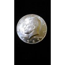 Moneda Half Dollar Kennedy Con Ceca D 1985 Monedas Oferta!