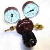 Regulador De Gás Argônio Com 2 Manômetros