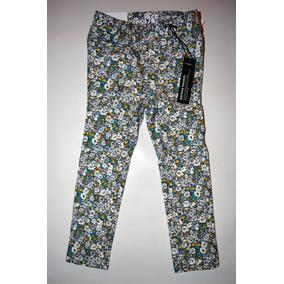 Pantalon Floreado Nena Stretch - Baby Gap - Talle 3y