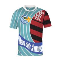 Camisa Meus Dois Amores - Beija-flor E Flamengo