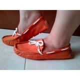 Bello Zapatos Dama Mocasines Anat Y Chelo Casuales Gamuza35