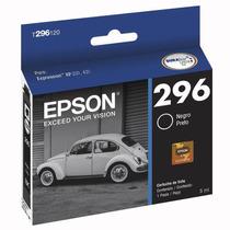 Cartucho Epson 296 Preto Ref:t296120 - Xp231 / Xp431