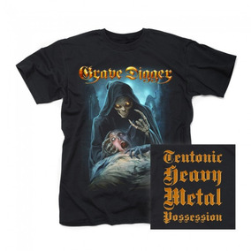 Grave Digger-teutonic Heavy Metal Possession /t-shirt Import