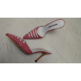 Fndi Zapatos Manolo Blahnik 5.5mx Semnuevos Gcci Coah Oferta