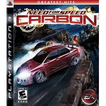 Need For Speed: Carbon - Ps3 - Mídia Física - Lacrado - Nf