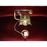 Telefono Antiguo Hermoso Labrado Raro De Ver