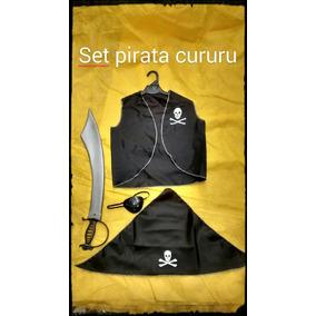 Disfraz Set Pirata Jake Garfio Disney Barco Souvenir Regalo