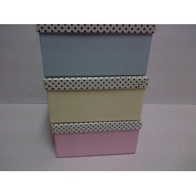 Cajas Artesanales Forradas De Carton